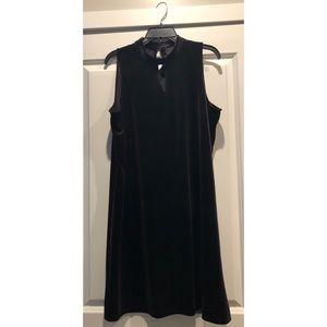 Worthington I Black Velvet Dress I Size XL